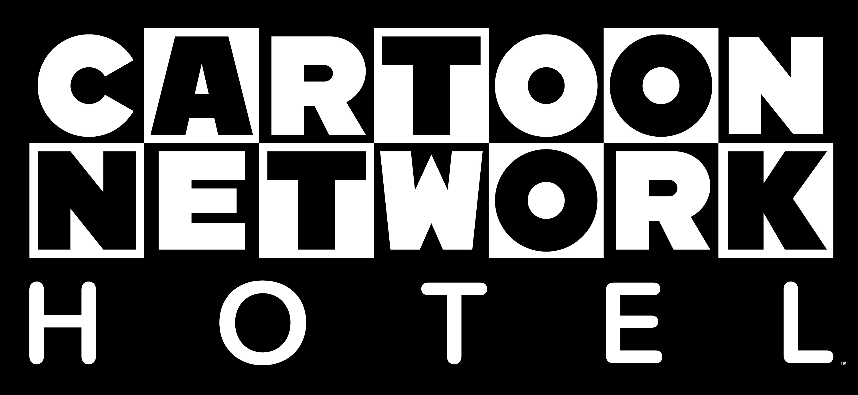 Cartoon Network Hotel logo with black background