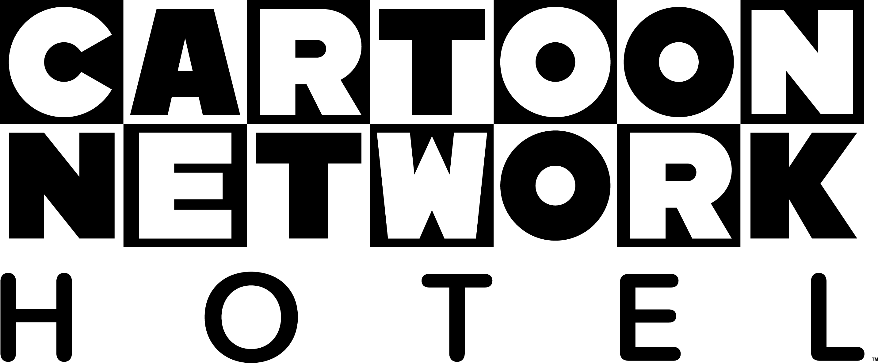 Cartoon Network Hotel logo with white background