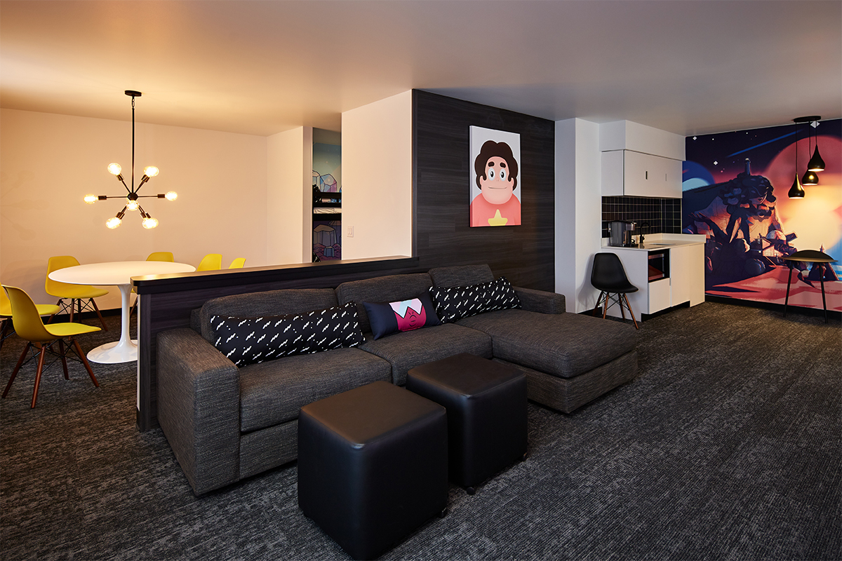 Steven Universe Dream Suite living room