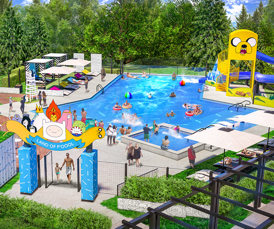 Pools Cartoon Network Hotel