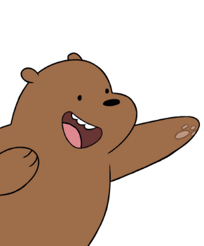 Grizz from We Bare Bears