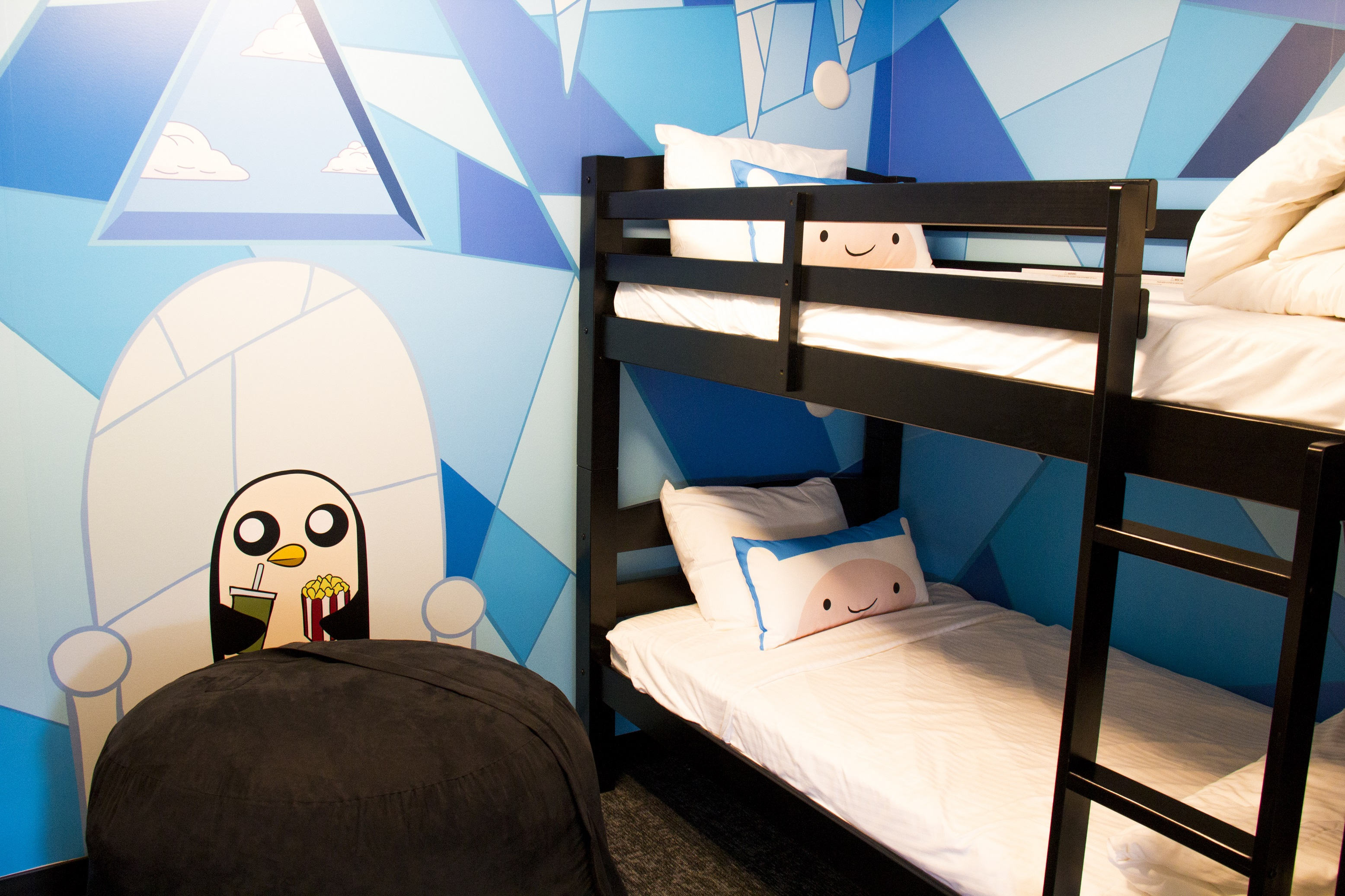 Adventure Time Dream Suite bunk bed room