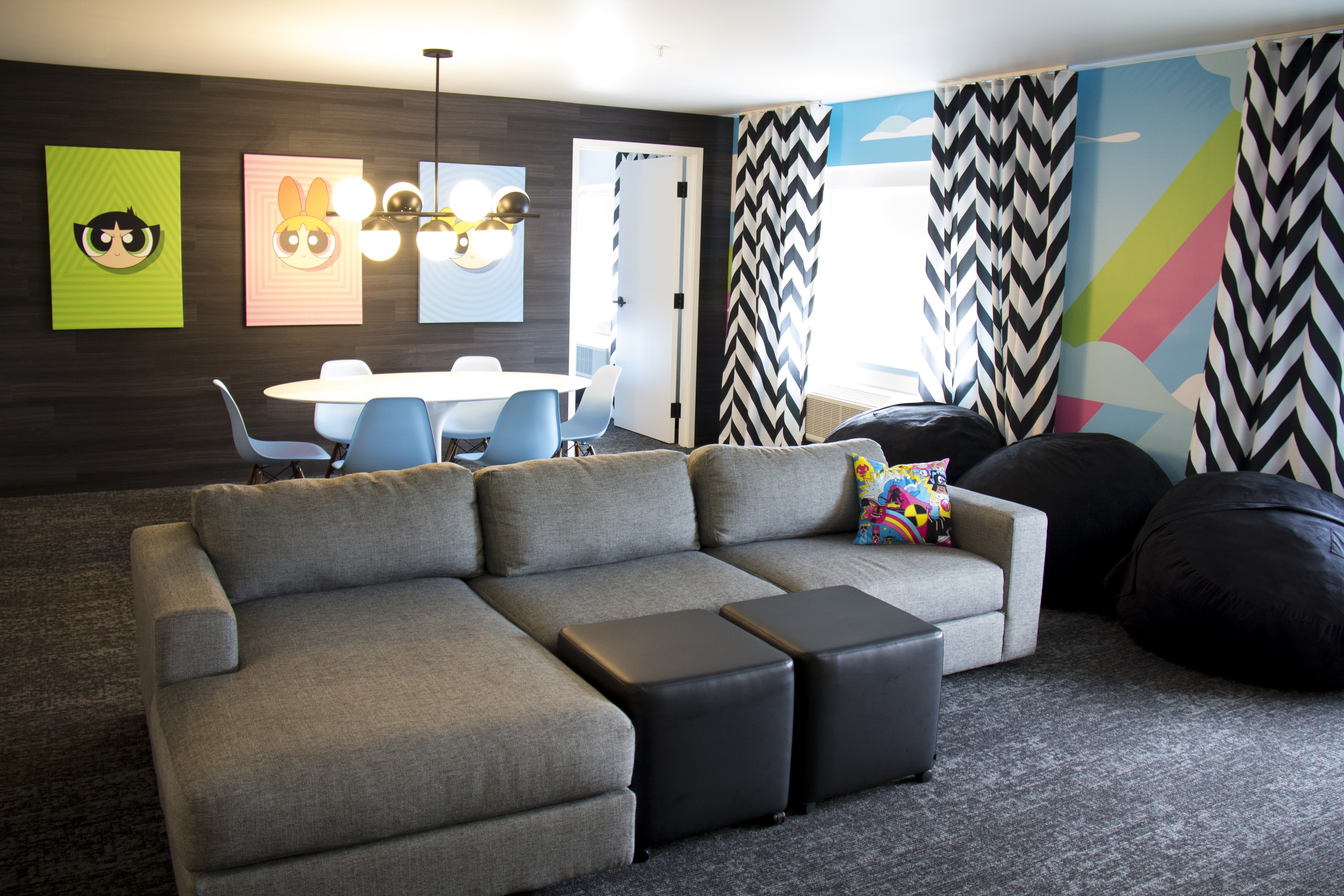 Power Puff Girls Dream Suite living room