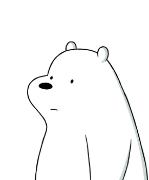 Ice Bear from We Bare Bears